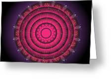 Mandala No. 63 Greeting Card