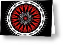 Mandala No. 98 Greeting Card