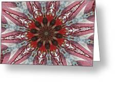 Mandala Of Glass Greeting Card