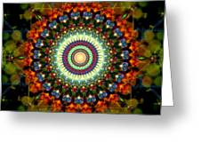 Mandala Of Loves Journey Greeting Card