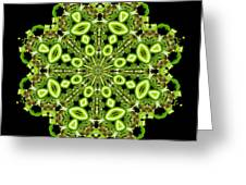 mandala - Revival-2201- 02gb Greeting Card