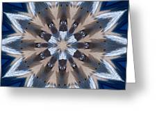 Mandala Sea Star Greeting Card