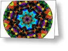 Mandala - Talisman 1101 - Order Your Talisman. Greeting Card