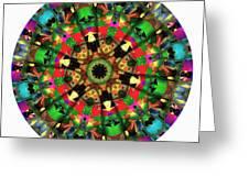 Mandala - Talisman 1104 - Order Your Talisman. Greeting Card