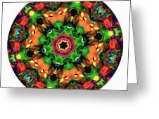 Mandala - Talisman 1106 - Order Your Talisman. Greeting Card