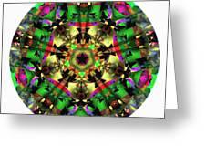 Mandala - Talisman 1107 - Order Your Talisman. Greeting Card