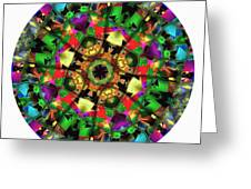 Mandala - Talisman 1108 - Order Your Talisman. Greeting Card