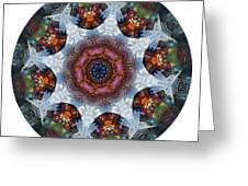 Mandala - Talisman 1112 - Order Your Talisman. Greeting Card