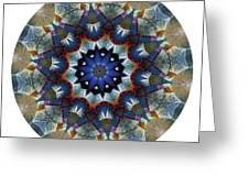 Mandala - Talisman 1120 - Order Your Talisman. Greeting Card