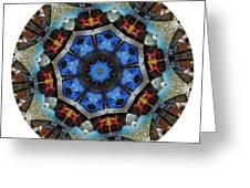 Mandala - Talisman 1124 - Order Your Talisman. Greeting Card