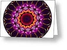 Mandala - Talisman 1383 Greeting Card