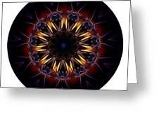 Mandala - Talisman 1389 Greeting Card