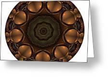 Mandala - Talisman 1392 Greeting Card