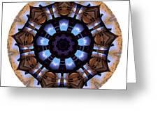 Mandala - Talisman 1396 Greeting Card