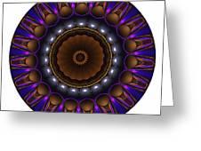 Mandala - Talisman 1398 Greeting Card