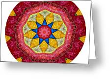 Mandala - Talisman 1404 Greeting Card