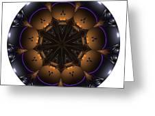 Mandala - Talisman 1430 Greeting Card