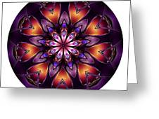 Mandala - Talisman 1432 Greeting Card