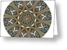 Mandala - Talisman 1434 Greeting Card