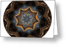 Mandala - Talisman 1444 Greeting Card