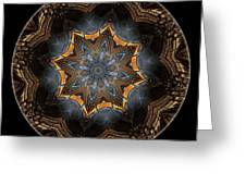 Mandala - Talisman 1445 Greeting Card