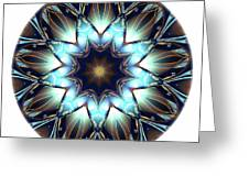 Mandala - Talisman 1446 Greeting Card