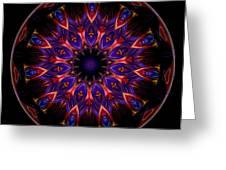 Mandala - Talisman 1449 Greeting Card