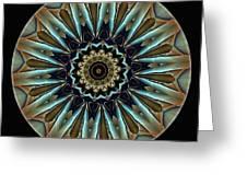 Mandala - Talisman 1458 Greeting Card
