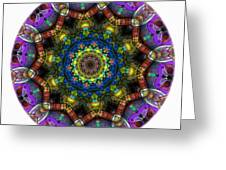 Mandala - Talisman 1526 Greeting Card