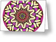 Mandala - Talisman 1681 Greeting Card
