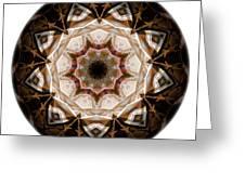 Mandala - Talisman 3707 Greeting Card