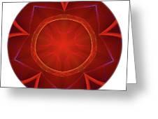 Mandala - Talisman 4006 Greeting Card