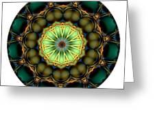 Mandala - Talisman 853 For Those Born In 1957 Greeting Card