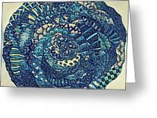 Mandala Tangled Digital Greeting Card