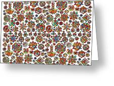 Mandala Traditional Design Greeting Card
