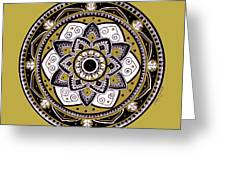 Diva Mandala Greeting Card
