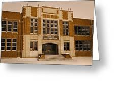 Mandan Jr High School 1 Greeting Card