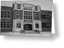 Mandan Jr High School Greeting Card