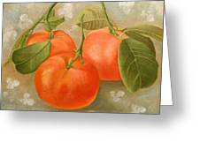 Mandarins Greeting Card