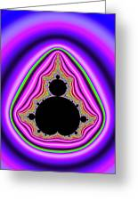 Mandelbrot Set Bold And Trippy Greeting Card