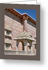 Mandir # 2 Greeting Card