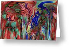 Mandolin Rain 2 Greeting Card