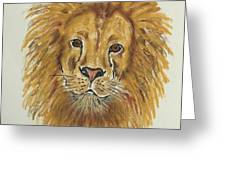 Mane Attraction Greeting Card