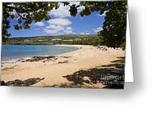 Manele Bay II Greeting Card