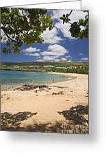 Manele Bay Greeting Card