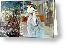 Manet: Cafe-concert, 1879 Greeting Card