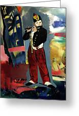 Manet In My World Greeting Card