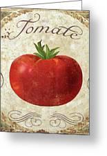 Mangia Tomato Greeting Card