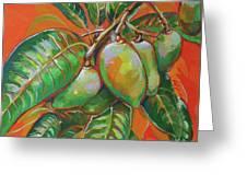 Mango Greeting Card
