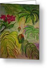 Mangoes Greeting Card by Lee Krbavac